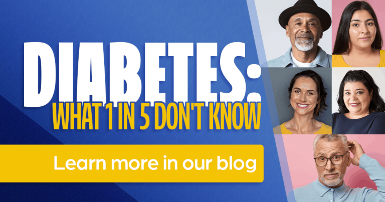 Diabetes: what 1 in 5 don't know